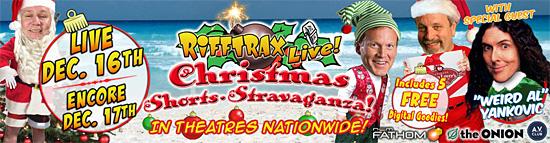 Rifftrax Christmas