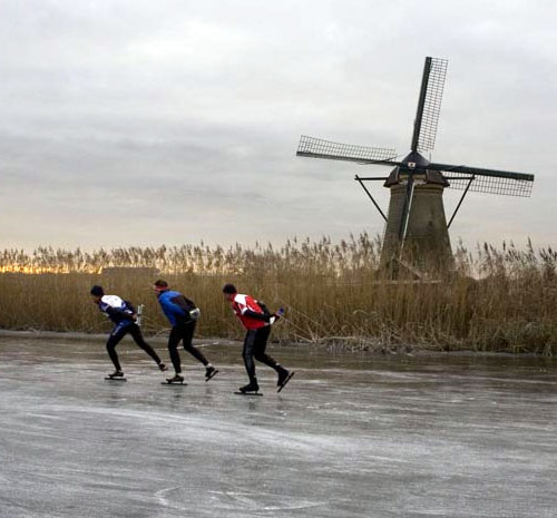 Skating in the Netherlands