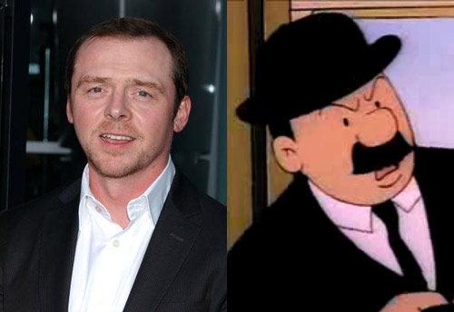 Simon Pegg as Thompson