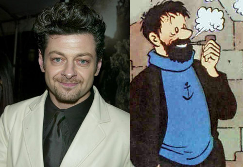 Andy Serkis as Captain Haddock
