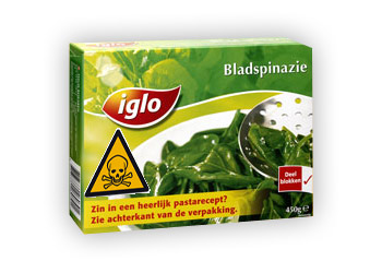 Toxic spinach