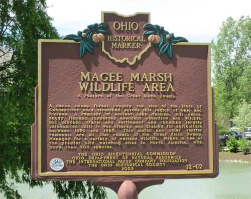 Magee Marsh sign