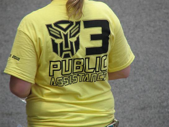 Terminator 3 Public Assistance T-Shirt
