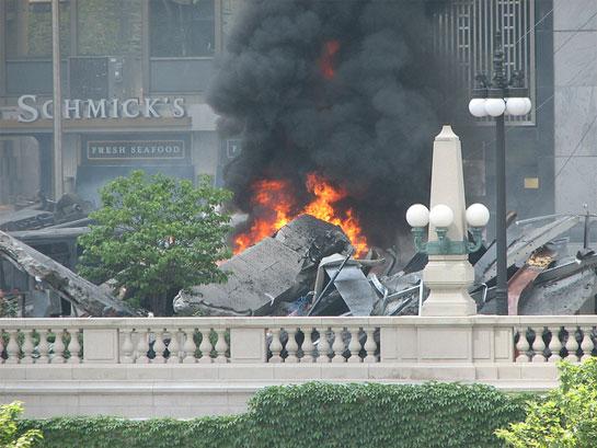 Transformers 3 fire