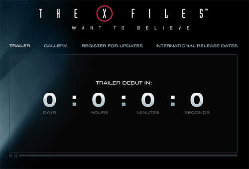 X-Files trailer