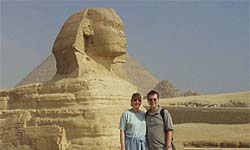 Egypt, Photo Album of Amy Evenstad and Arthur de Wolf