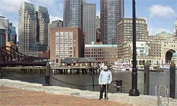 Boston MA, USA, Photo Album of Amy Evenstad and Arthur de Wolf