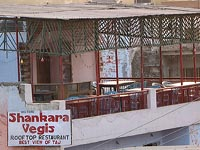 Shankara Vegas roof-top restaurant, Agra, India