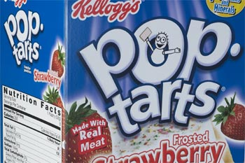 Kellogg's Pop Tarts with beef gelatin