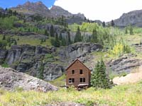 Yankee Boy Basin trail, Ouray, Colorado