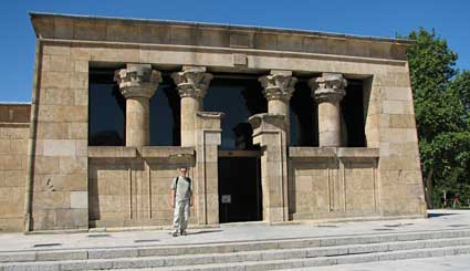 Temple of Debod, Madrid Spain