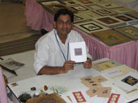Artist in Jaipur City Palace