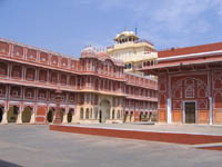 Courtyard in Jaipur City Palace