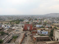 View of Jaipur from Sun Temple