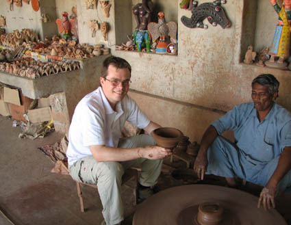 Rajasthani potter