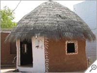 Rajasthan hut