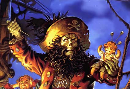 LeChuck of the Monkey Island series