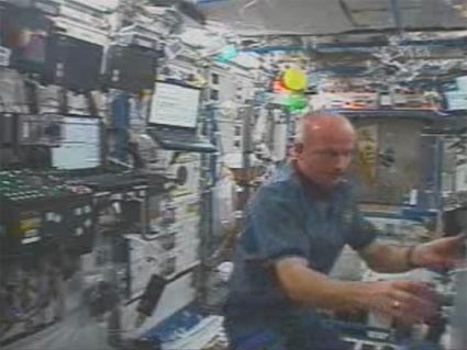 Inside the International Space Station