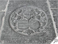 Hooglandse Kerk, Leiden gravestone
