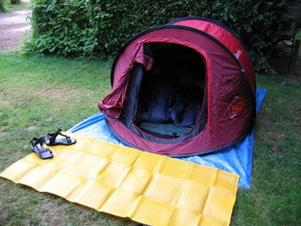 2-second Quechua tent