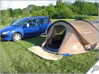 Quechua 3-second air tent