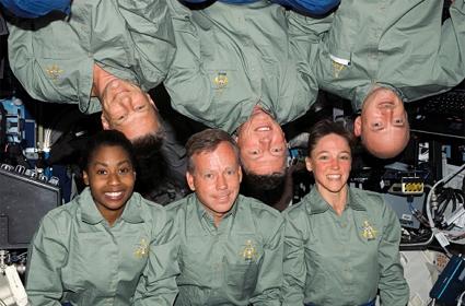 STS 121 crew