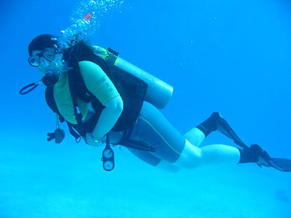Diving with Colona at Sharm El Sheikh