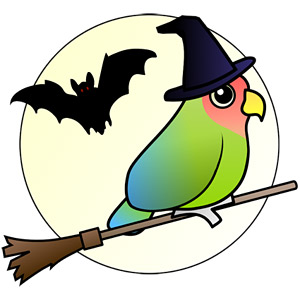 Birdorable Lovebird Halloween