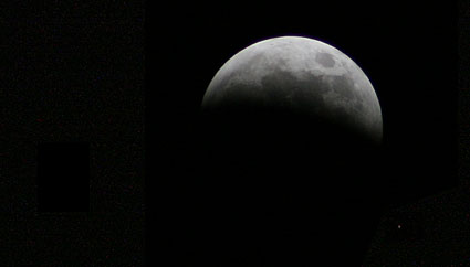Total Lunar Eclipse from Leiden, the Netherlands - Stage 2