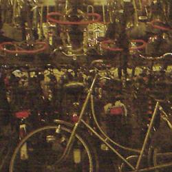 Leiden bicycle parking garage chaos