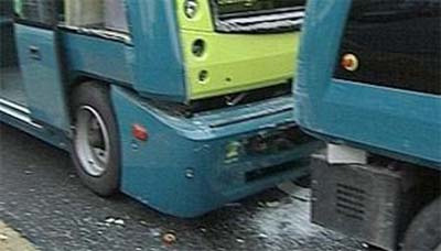 Connexxion robot buses crash
