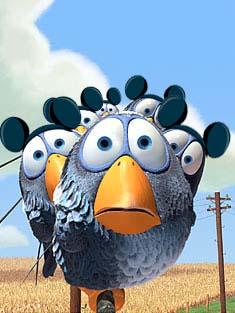 Pixar Birds with Mickey Ears