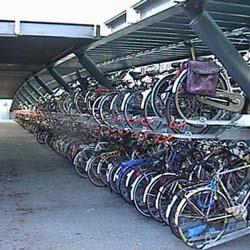 Leiden bicycle parking garage