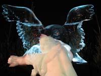 'De Ontvoering van Ganymedes made of ice