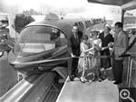 Disneyland Monorail Opening 1959