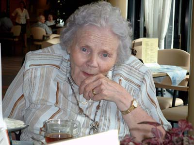 80th birthday of Hendrika De Wolf-Bouma (24 July 2003)