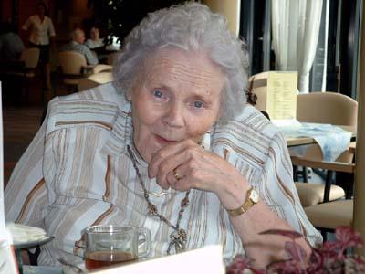 80th birthday of Hendrika De Wolf-Bouma (24 July 2003)