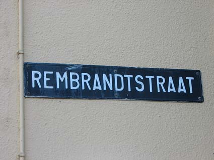 Rembrandtstraat, Leiden
