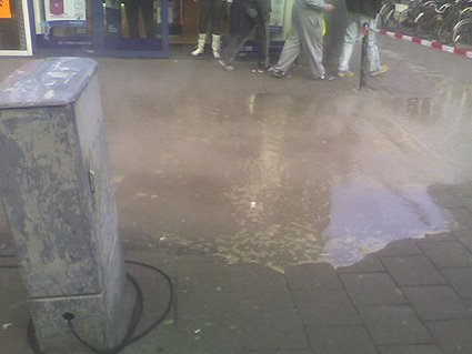 Rotterdam boiling water flood 2