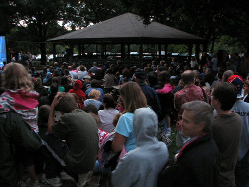 Huge crowd at Batfest